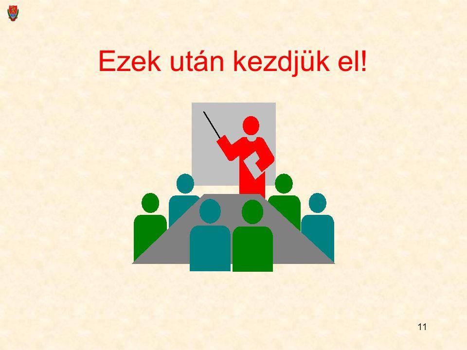 10 Viszont… A vizsgára megkapják a tételeket Minden tételcím alatt ott lesz az összefoglalás is, hogy mi tartozik oda Lesz részletes konzultáció a jog