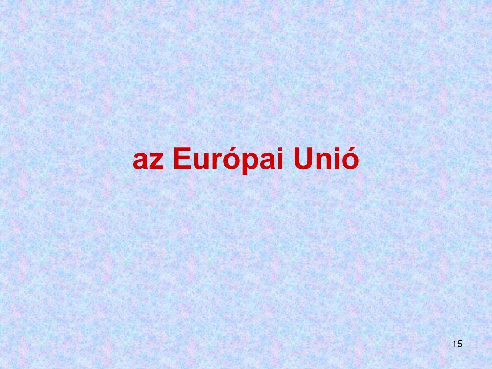 15 az Európai Unió