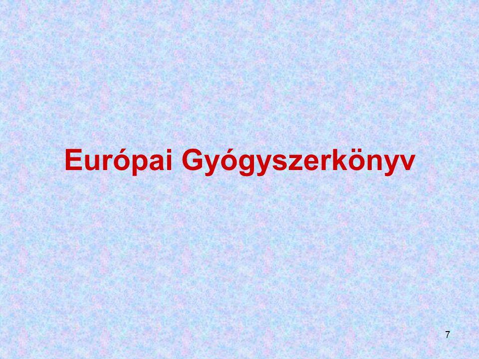 7 Európai Gyógyszerkönyv