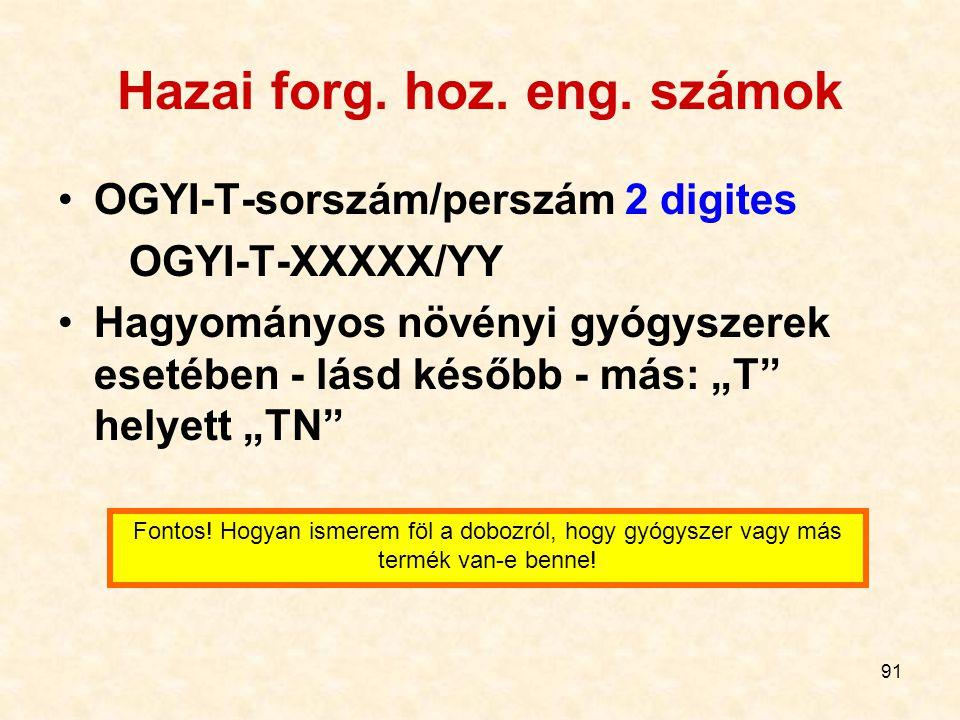 91 Hazai forg.hoz. eng.