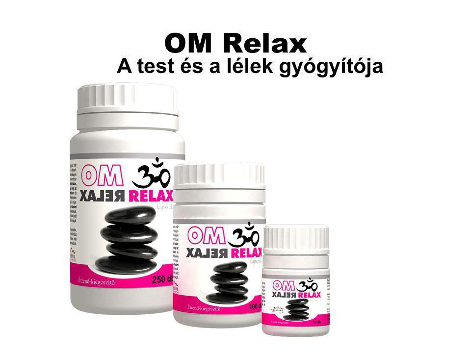 OM Relax A test és a lélek gyógyítója