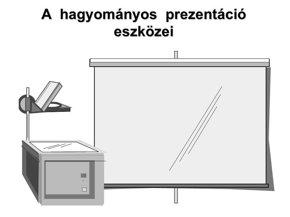 A hagyományos prezentáció eszközei