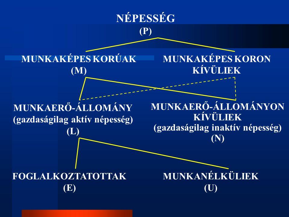 Nemzeti Foglalkoztatási Akcióterv Foglal kozta- tási ráta (%) EU átlag Uniós célkitűzések Magyar- ország Nemzeti célkitűzések Tény (2003)20052010 Tény (2003) 20062010 EU-15EU-25 Össz.64,362,9677057,05963 Nők56,055,0576050,95357 Férfia k 72,570,8--63,46469 55+41,740,2-5029,03337