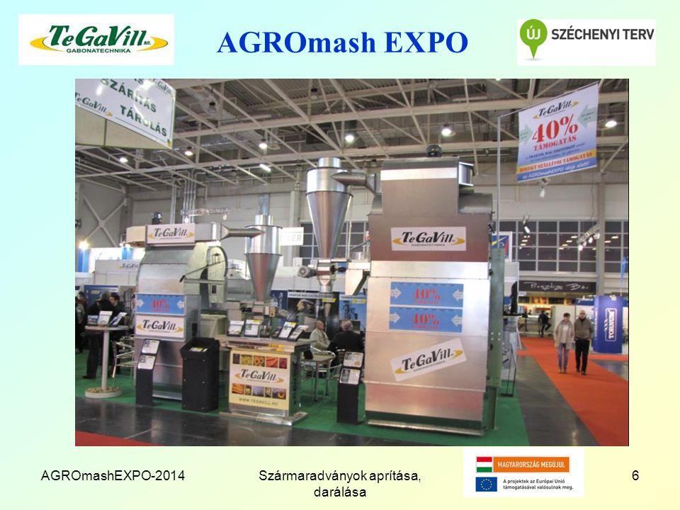 AGROmash EXPO AGROmashEXPO-2014Szármaradványok aprítása, darálása 6