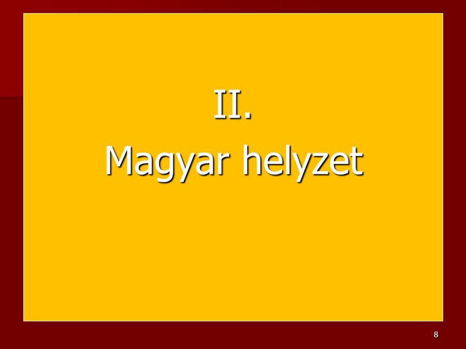 II. Magyar helyzet 8