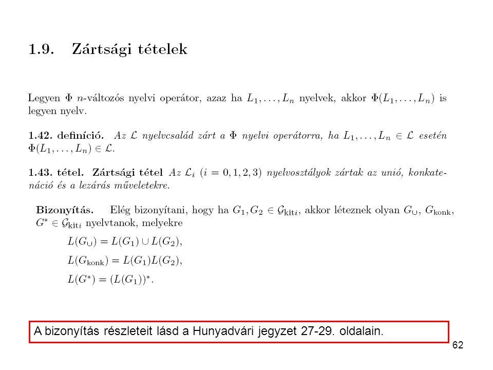 62 A bizonyítás részleteit lásd a Hunyadvári jegyzet 27-29. oldalain.