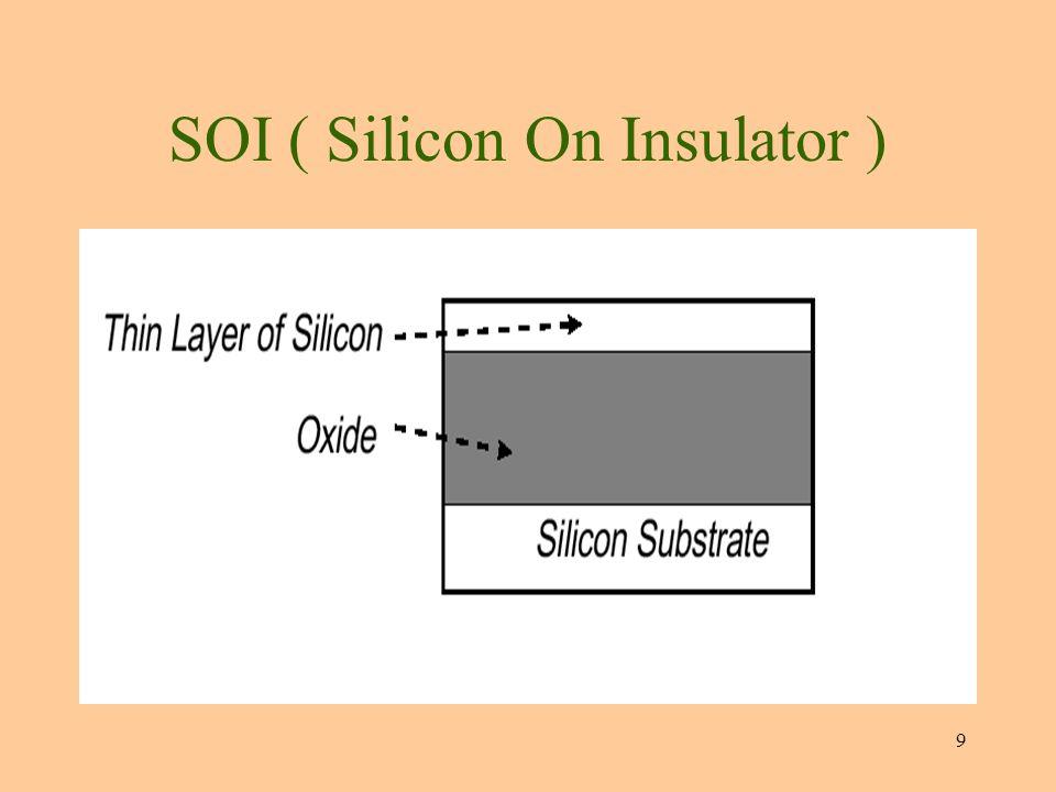 10 SOI ( Silicon On Insulator )