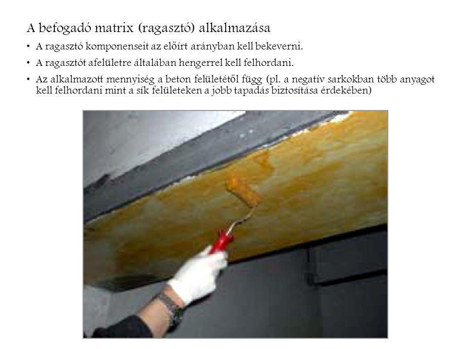 A száler ő sítés ű lemez megnyúlása: A CFRP lemezek nagymérték ű megnyúlása a beton repedésének túlzott megnyílását és a lemezek delaminációját eredményezi, ezért ezt korlátozni kell.