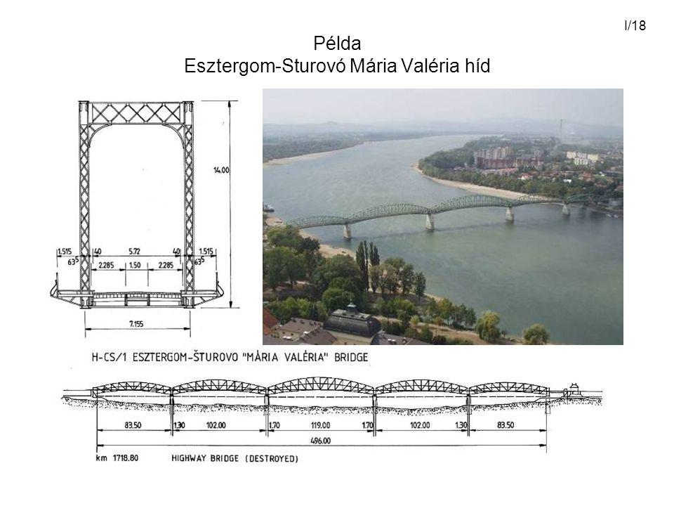 I/18 Példa Esztergom-Sturovó Mária Valéria híd