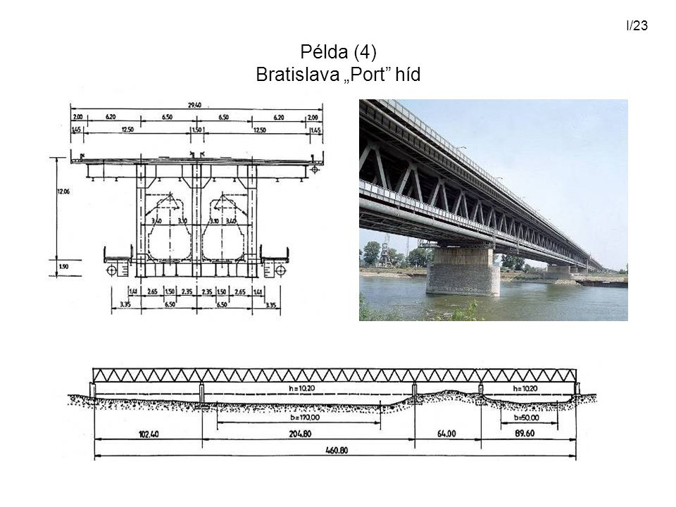 "I/23 Példa (4) Bratislava ""Port"" híd"