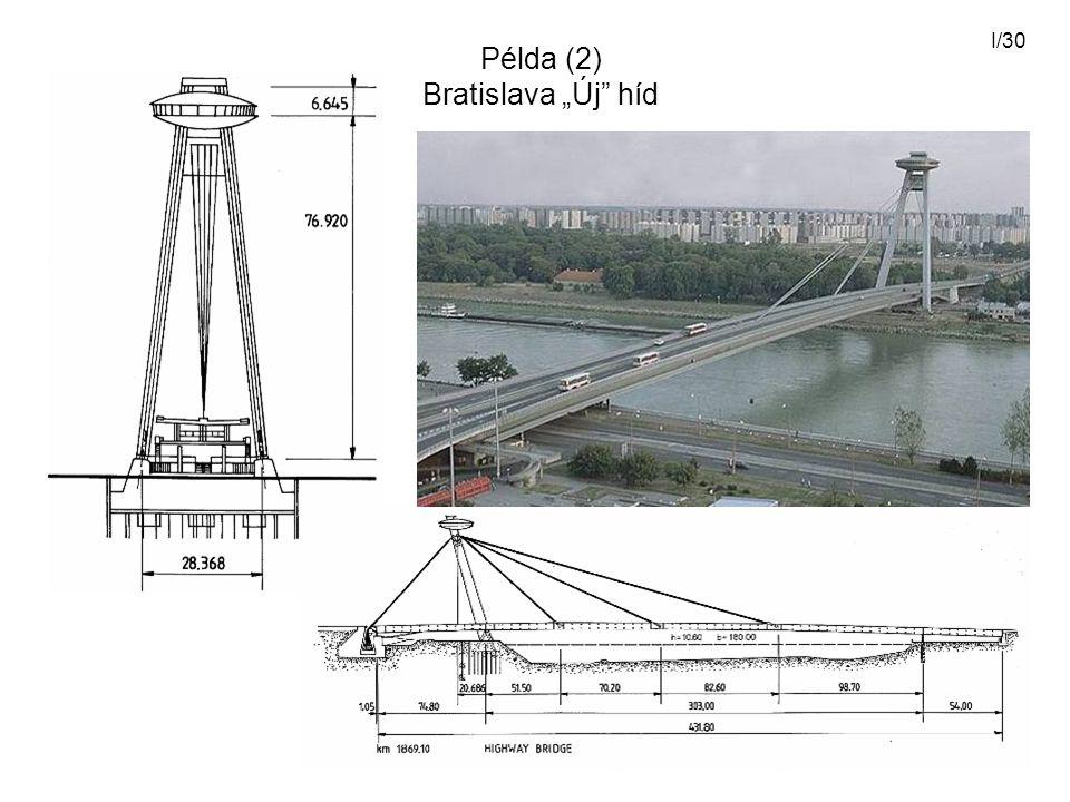 "I/30 Példa (2) Bratislava ""Új"" híd"