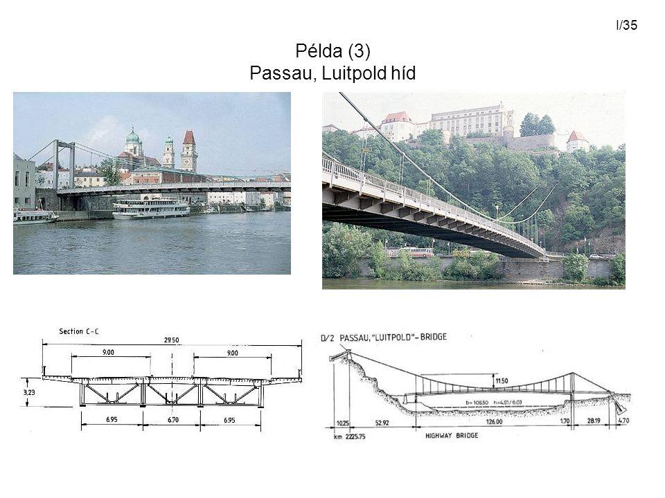 I/35 Példa (3) Passau, Luitpold híd