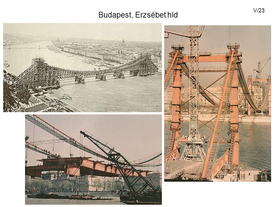 V/23 Budapest, Erzsébet híd