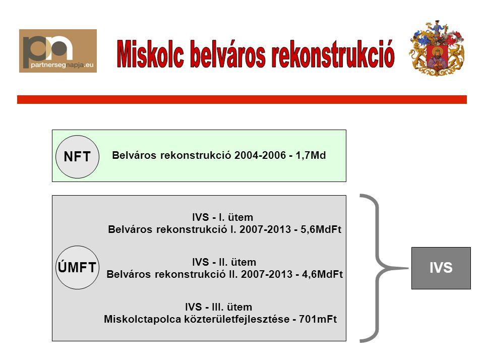 NFT ÚMFT Belváros rekonstrukció 2004-2006 - 1,7Md IVS - I.