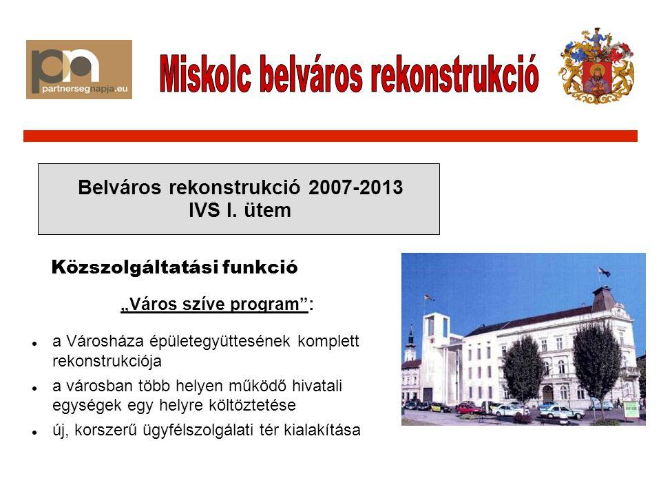 Belváros rekonstrukció 2007-2013 IVS II.