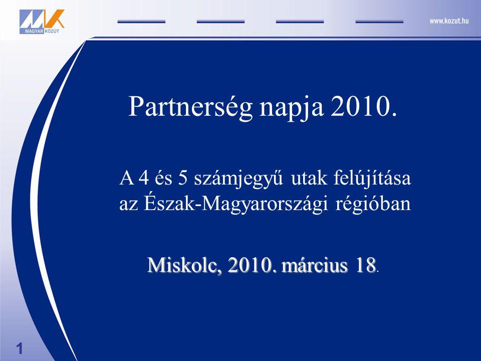 Miskolc, 2010. március 18 Miskolc, 2010. március 18.