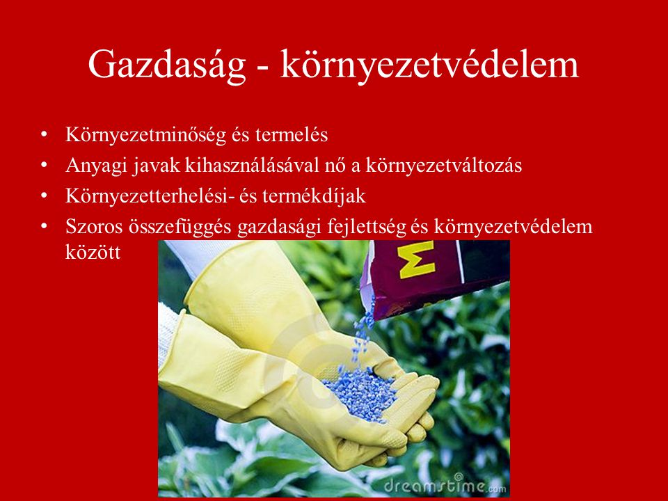 Termékdíj a környezetpolitikában az egyik leggyakrabban alkalmazott közgazdasági eszköz.