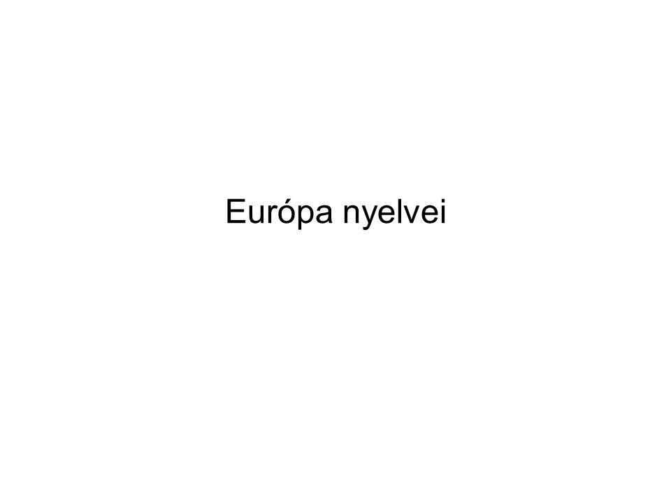 B., Nem indo-európai nyelvcsaládok I.Az urali nyelvcsalád 1.