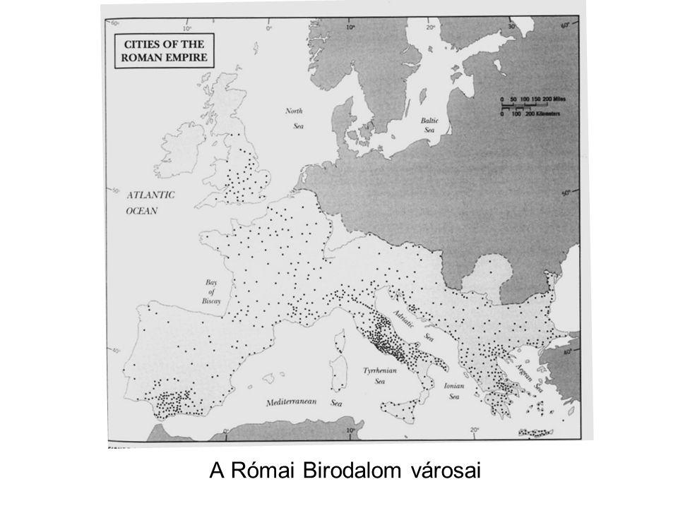 A Római Birodalom városai