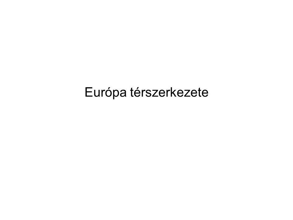 Európa térszerkezete
