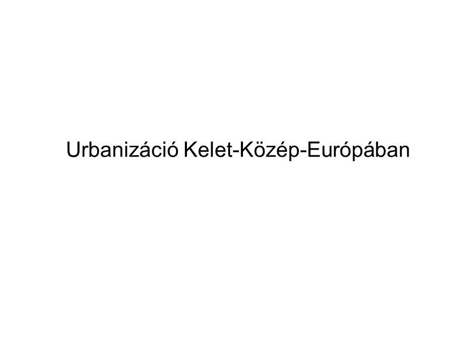 Urbanizáció Kelet-Közép-Európában