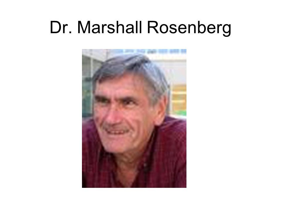 Dr. Marshall Rosenberg