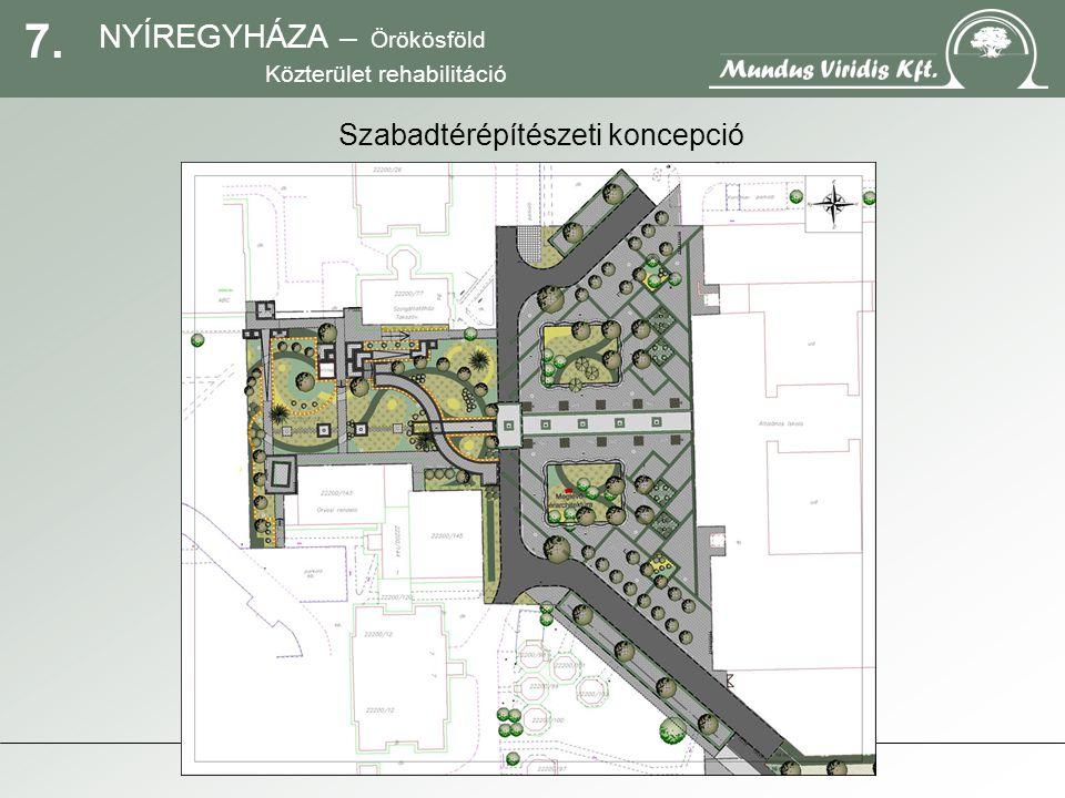 18. NYÍREGYHÁZA – Örökösföld Közterület rehabilitáció Megemlékezés pavilonja