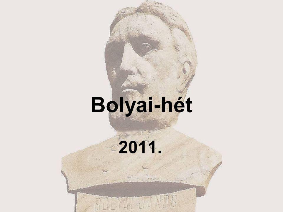 Bolyai-hét 2011.
