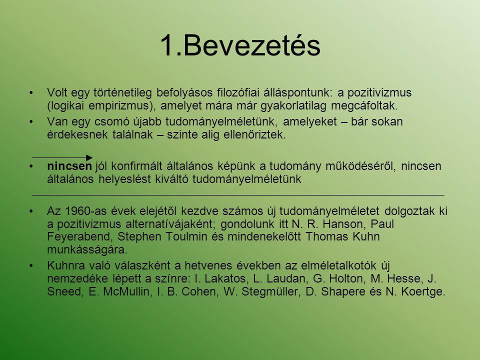 11.Laudan tételei Laudan szerint a tudomány célja intellektuális problémák megoldása.
