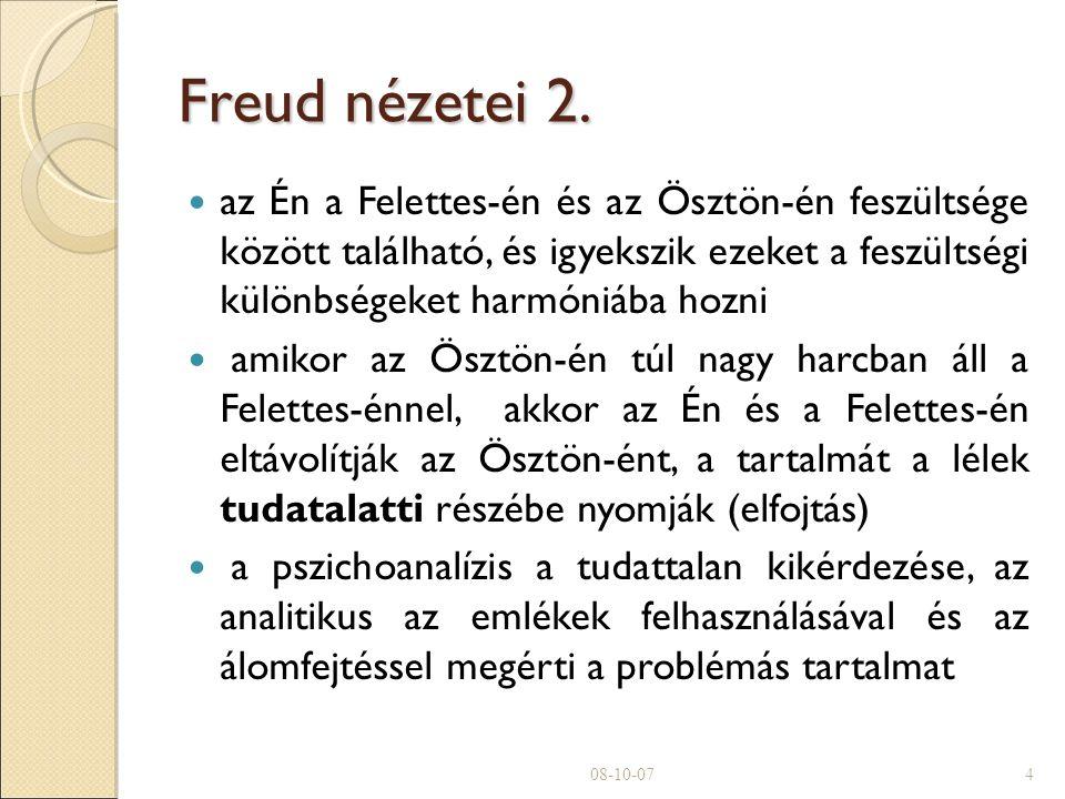 Freud nézetei 2.
