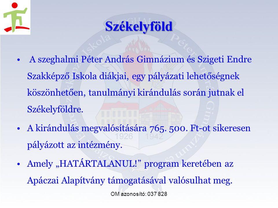 Székelyföld A szeghalmi Péter András Gimnázium és Szigeti Endre Szakképző Iskola diákjai, egy pályázati lehetőségnek köszönhetően, tanulmányi kirándulás során jutnak el Székelyföldre.