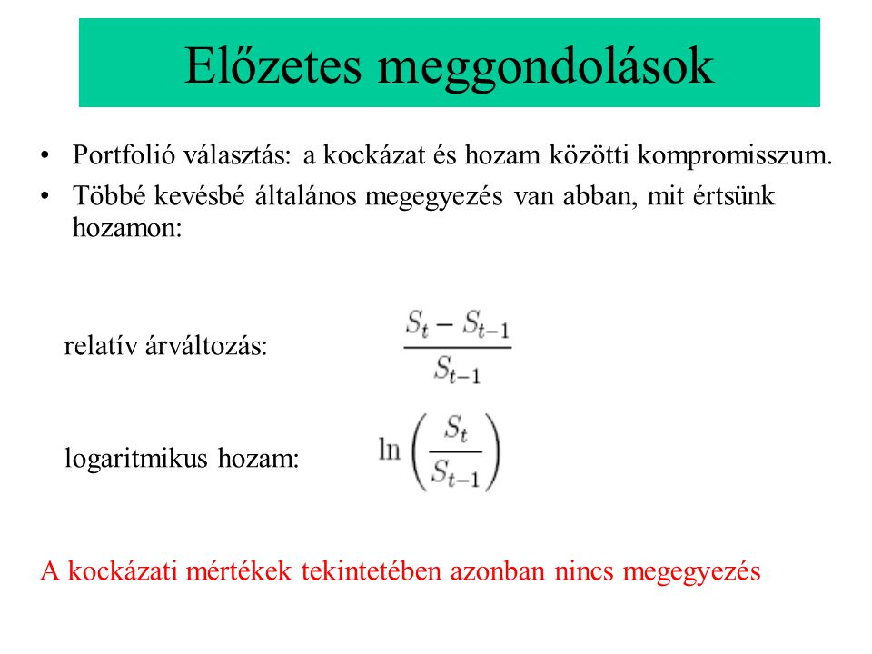 Geometriai interpretáció A szórás szintfelületei ellipszoidok.