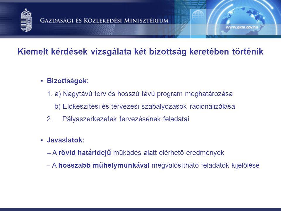 Bizottságok: 1.