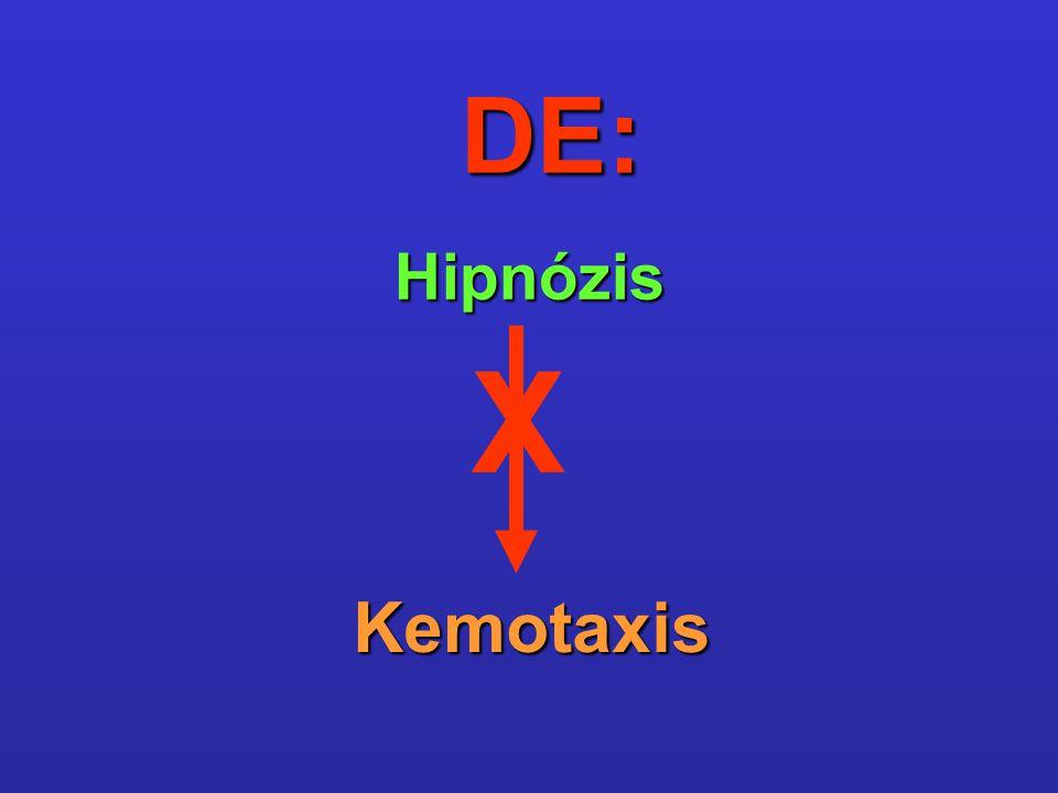 DE: Hipnózis Kemotaxis X