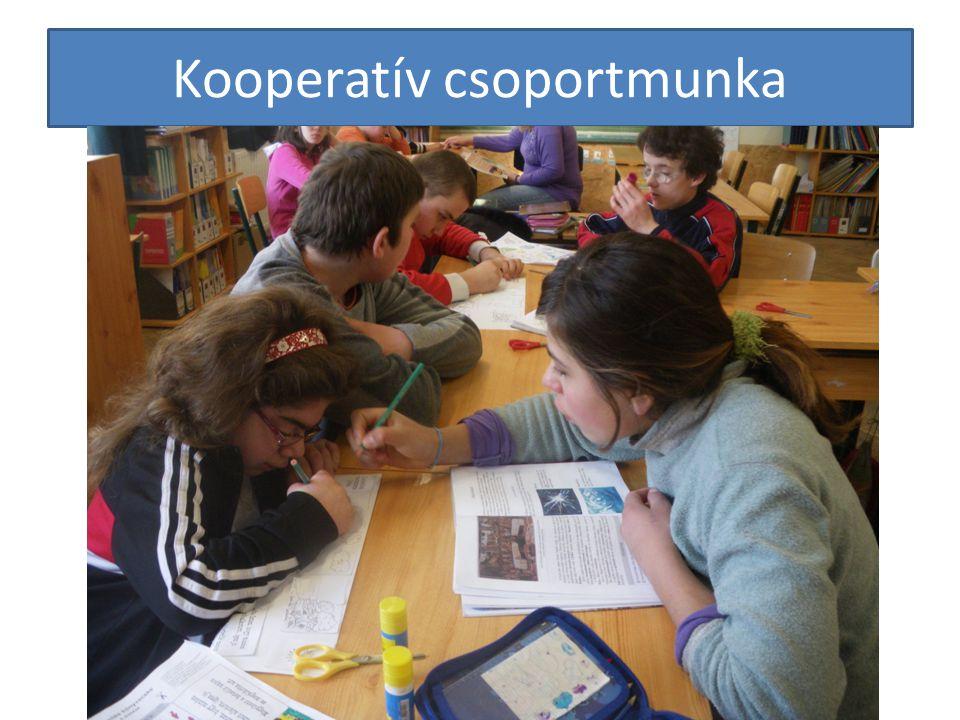Kooperatív csoportmunka