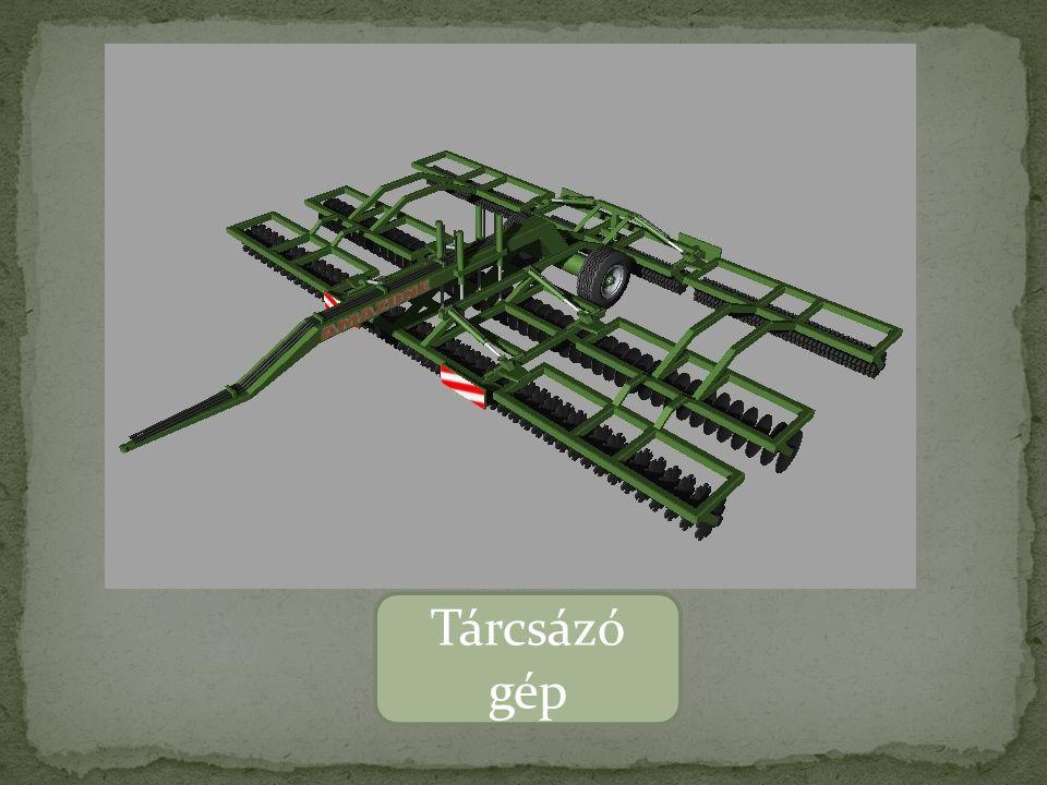 Tárcsázó gép