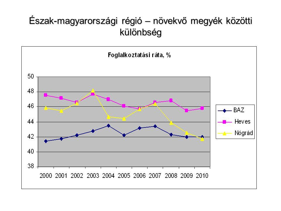 Munkahellyel kapcsolatos elvárások – Észak-magyarországi régió