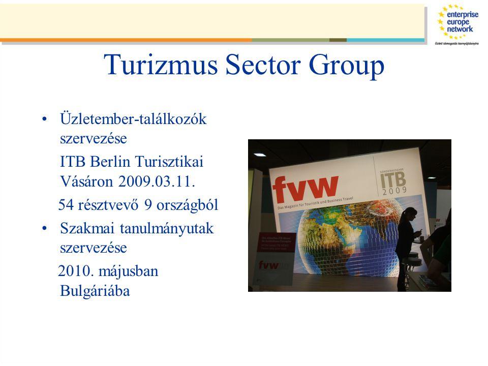 Turizmus Sector Group Üzletember-találkozók szervezése ITB Berlin Turisztikai Vásáron 2009.03.11.