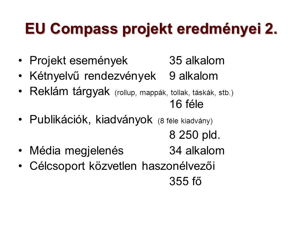 EU Compass projekt eredményei 2.