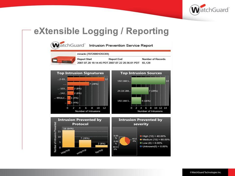 eXtensible Logging / Reporting
