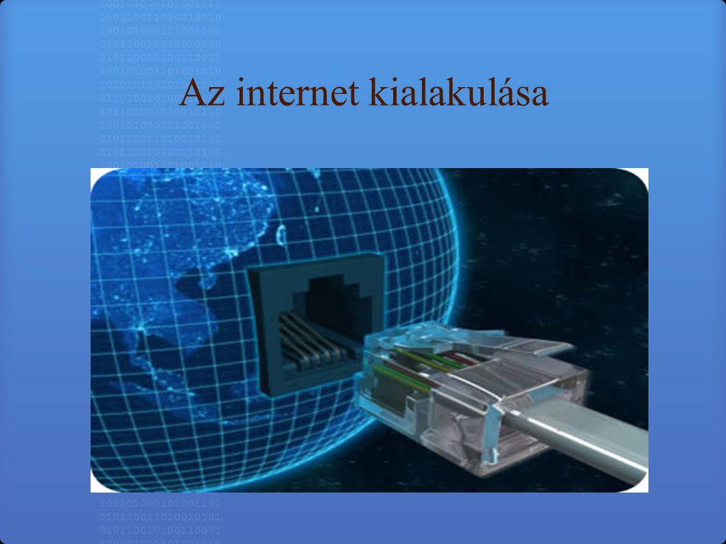 Az internet az egész világot behálózó számítógép-hálózat.