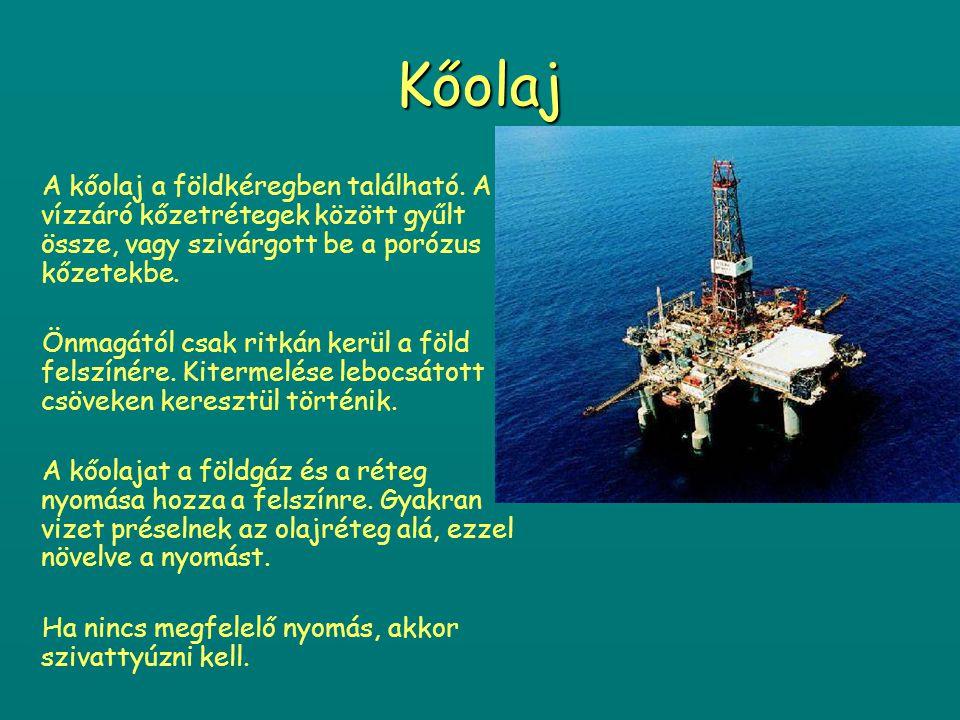 Feldolgozás A földgáz nem csak jelentős energiahordozó, hanem fontos vegyipari termék is.