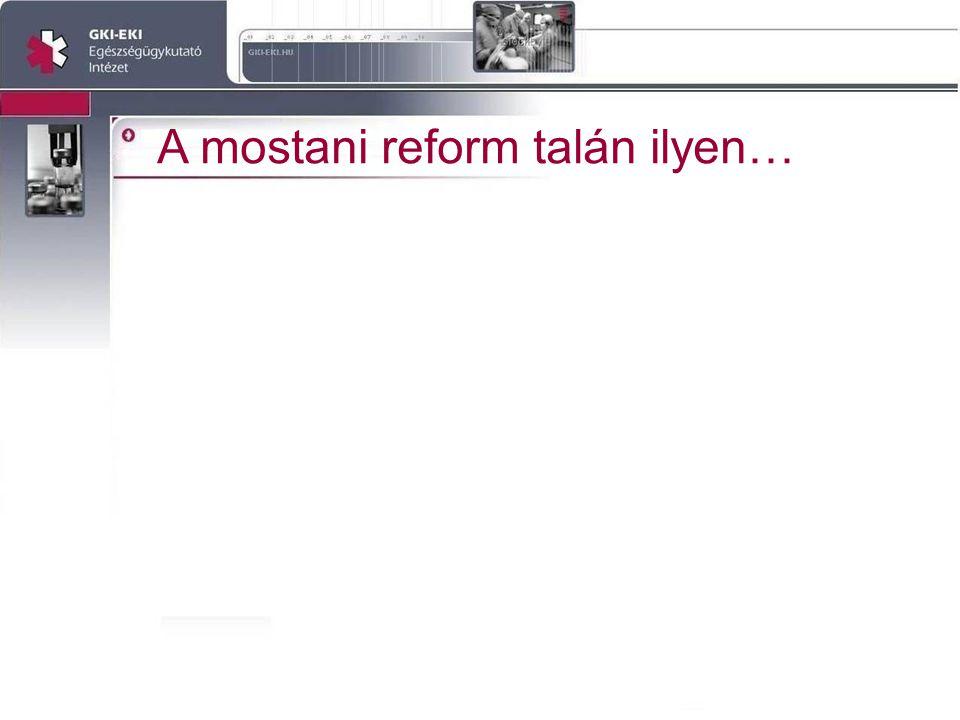A mostani reform talán ilyen…
