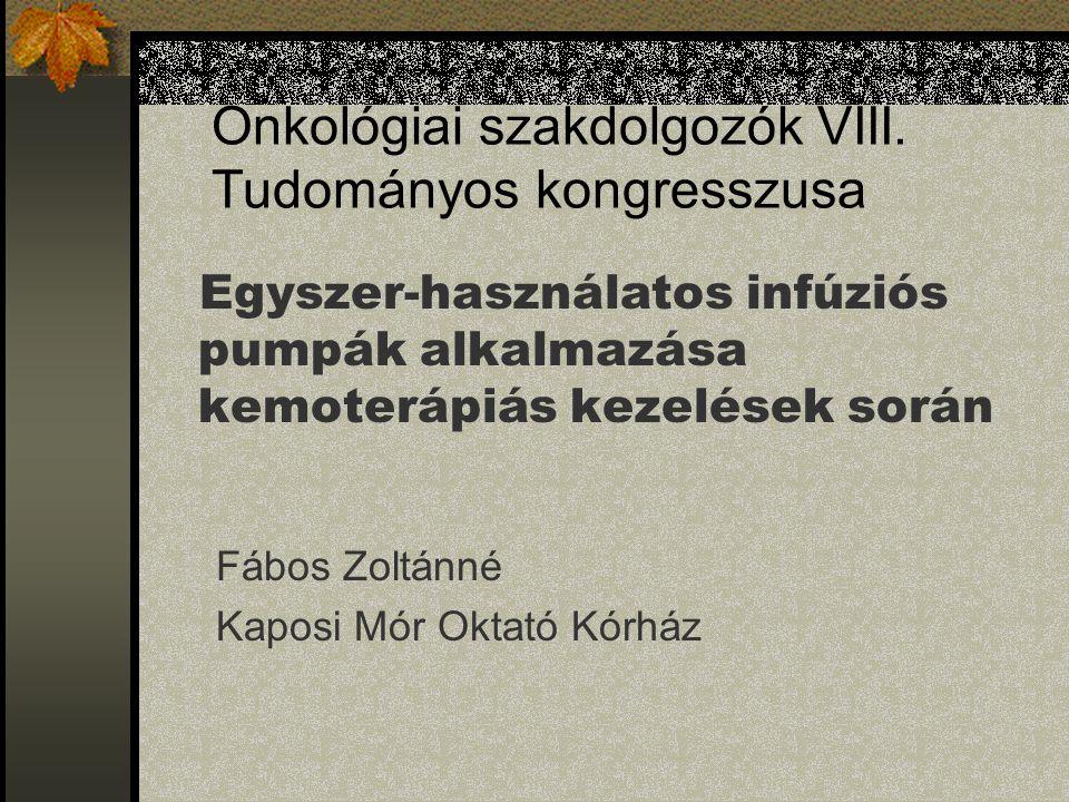 Onkológiai szakdolgozók VIII.