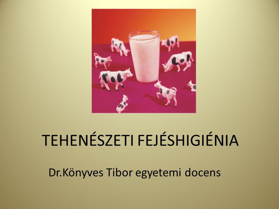 Az előadás tartalma 1.A tejképződés élettani alapjai 2.