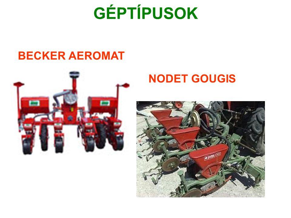 GÉPTÍPUSOK BECKER AEROMAT NODET GOUGIS