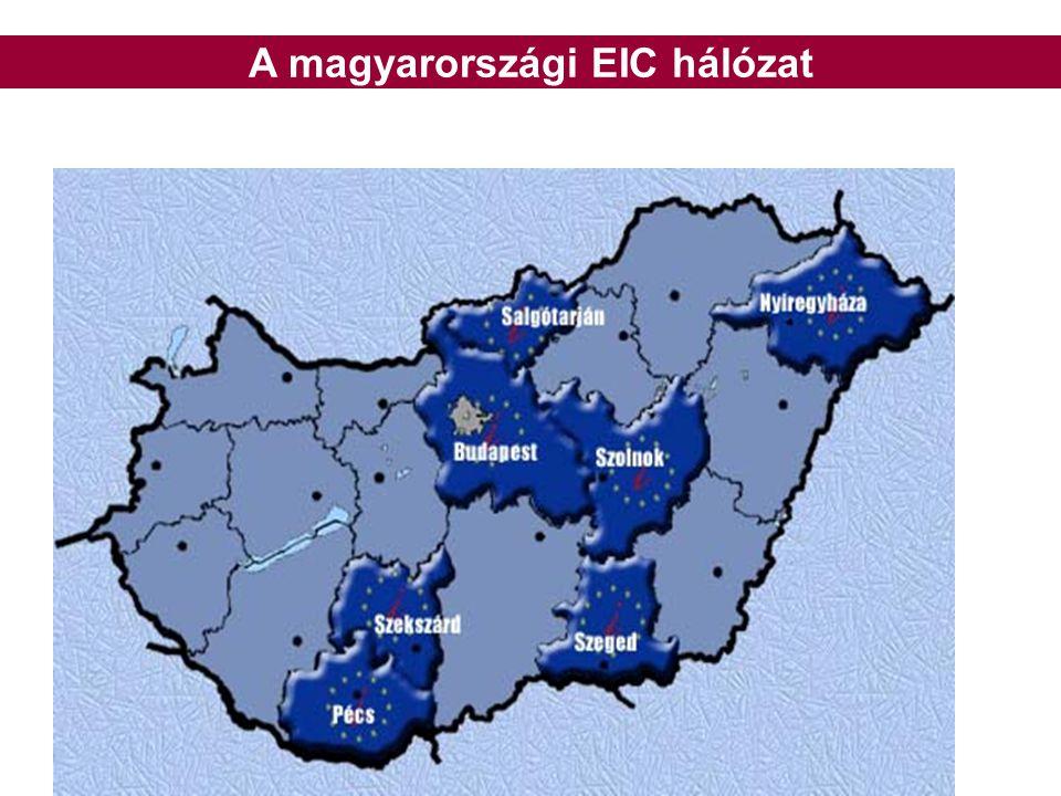A magyarországi EIC hálózat