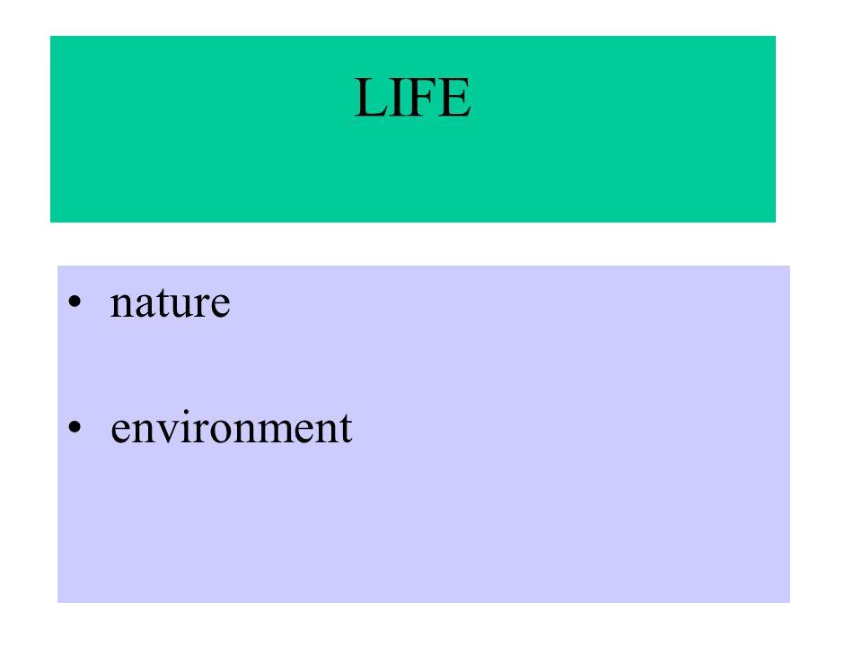 LIFE nature environment