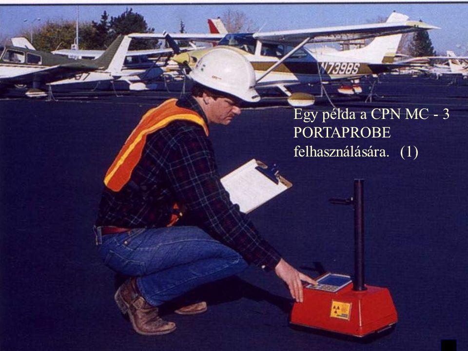 Mérés reptéri burkolaton Mérés szántóföldön - talajelőkészítés Az MC-3 PORTAPROBE különböző felhasználásokhoz alkalmas.