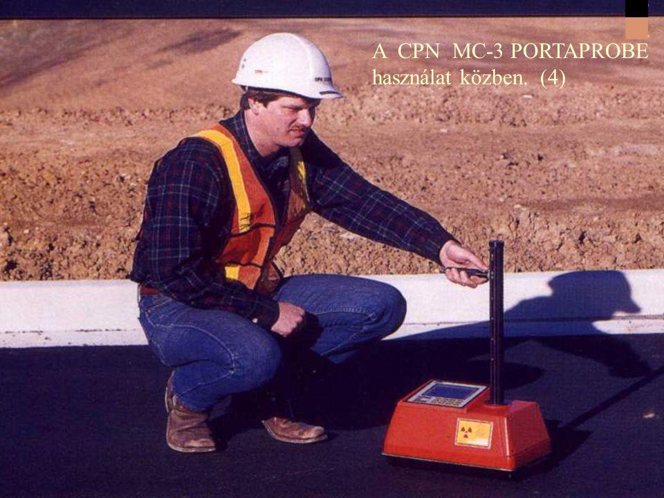 A CPN MC-3 PORTAPROBE használat közben. (3)